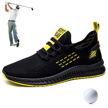 2020 Net Men's Summer Golf Shoes Sports Sneakers Man Shoes Sport Sneakers Man Golf Black Youth Athletic Trainers Golf