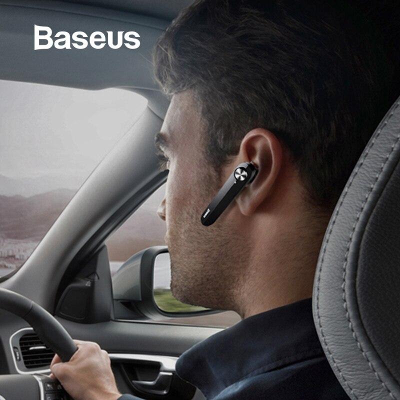 Baseus A01 sans fil Bluetooth écouteur Mini affaires Portable écouteurs avec Microphone pour xiaomi iPhone conduite Fone De Ouvido