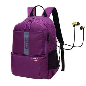 "Image 2 - Ciephia Waterproof Backpack Women School bags for Girl Casual Travel Large Capacity 15.6"" Laptop Backpacks for Teen Multi Pocket"