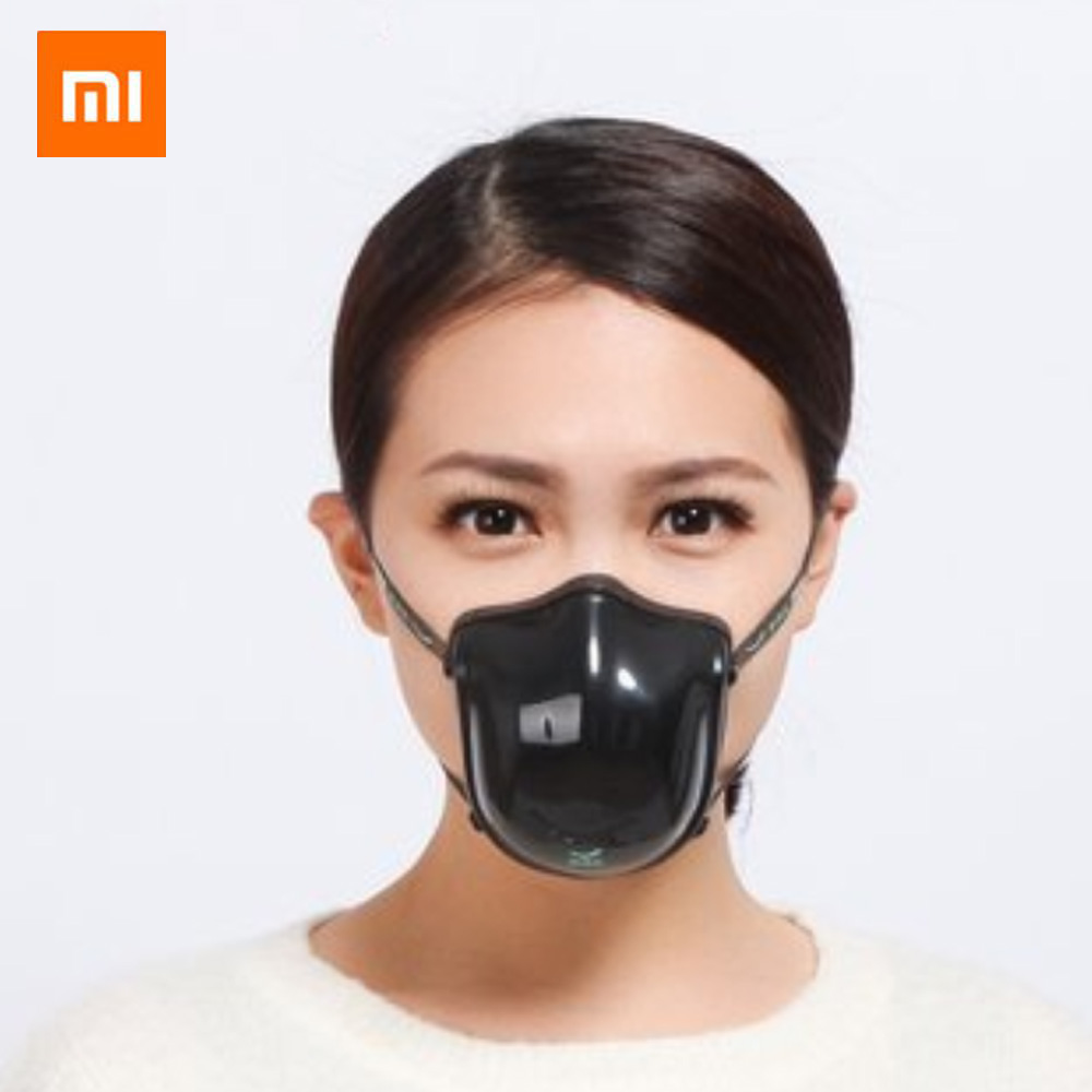 In Stock Xiaomi Mijia Q5Pro Electric Face Strial Anti With Filter Protection Respirator