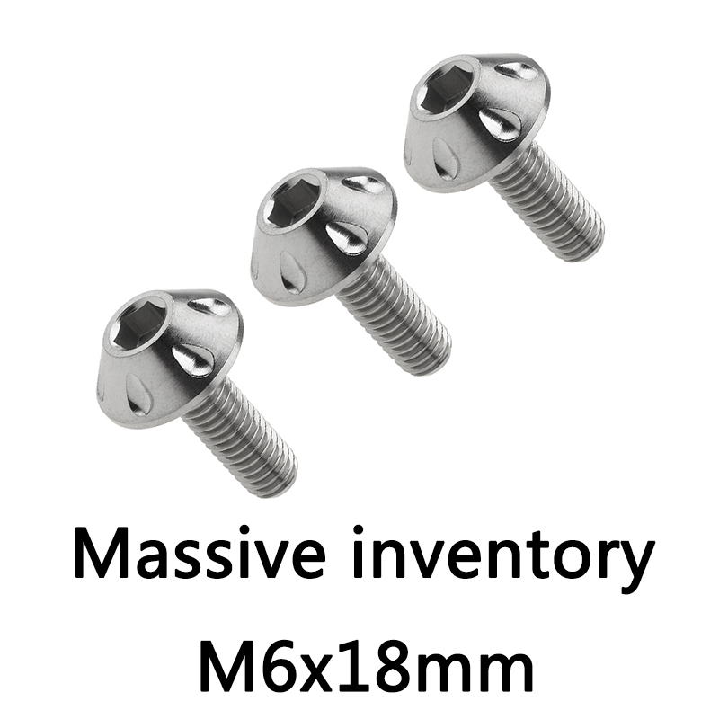 6mm x 30mm Socket Button Flanged x10 M6 x 30 Stainless FLANGED BUTTON Bolts