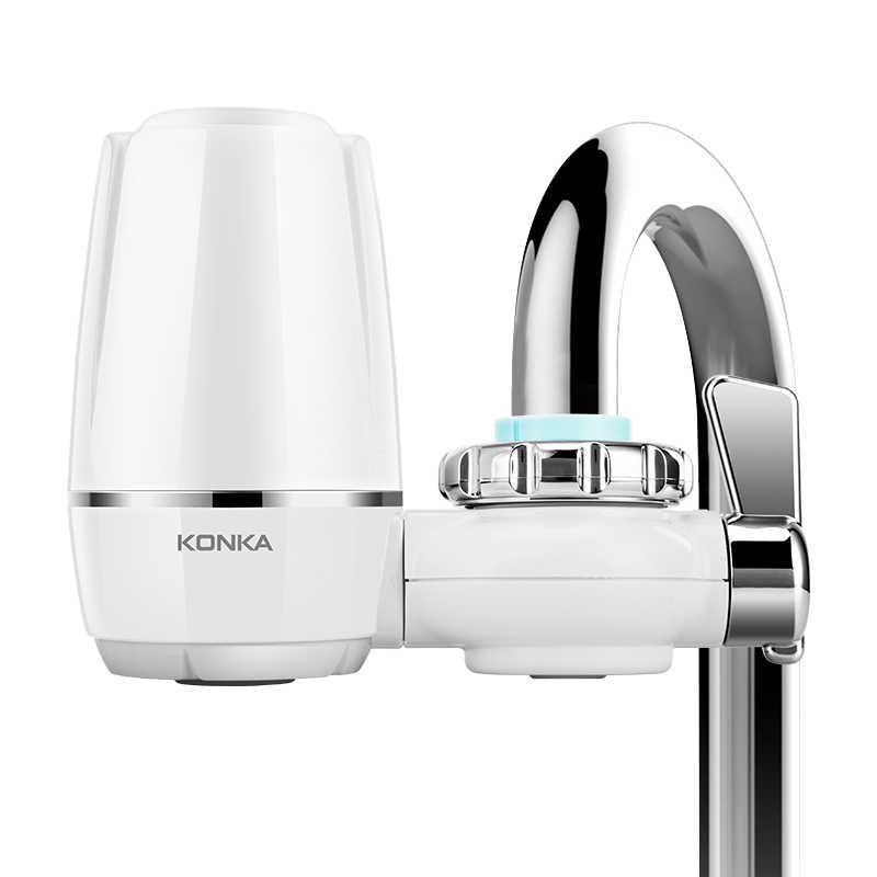 Musluk suyu arıtıcısı temiz mutfak musluk yıkanabilir seramik Percolator su filtresi Filtro pas bakteri temizleme yedek filtre