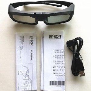 Image 4 - Oryginalne aktywne okulary 3D do okularów Epson 3D ELPGS03 do projektora TW5200/9200/TW6200/TW8200