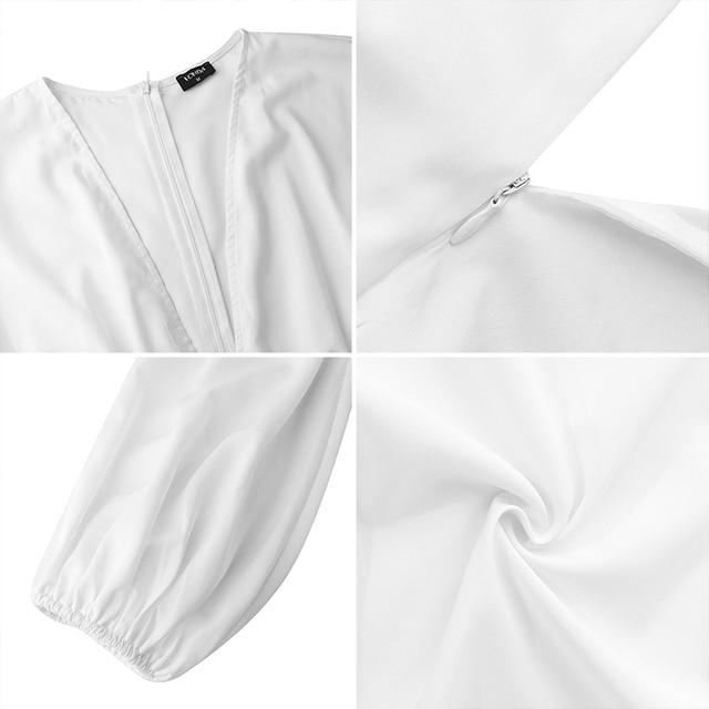 2020 VONDA Donna Autunno A Maniche Lunghe di Modo Camicia Lunga Camicette Irregolare Tunica Magliette E Camicette Blusas Femininas Più Il Formato Del Partito Camicette 5XL
