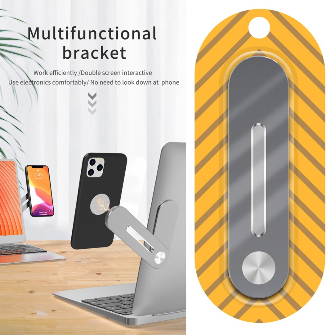 Universal Laptop Expansion Compatible For Mobile Phone Holder Bracket Aluminium Alloy Expand Pole Phone Holders Stands Accessory