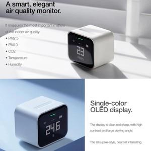 Image 4 - Qingping كاشف الهواء Lite Retina ، شاشة تعمل باللمس IPS ، Mi Home ، CO2 ، PM2.5 ، PM10 ، جهاز مراقبة الهواء ، متوافق مع Apple HomeKit