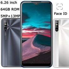 Gota de água 7a 4g ram 64g rom 13mp hd câmera desbloqueado android 6.26 polegada face id smartphones originais globais telefones celulares