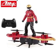 2020 New ATTOP F5 2.4G Mini RC Drone Skater Shaped Aircraft Flight Mode Altitude