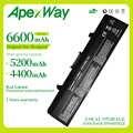 Apexway แบตเตอรี่แล็ปท็อปสำหรับ Dell GW240 297 M911G RN873 RU586 XR693 สำหรับ Dell Inspiron 1525 1526 1545 แบตเตอรี่โน๊ตบุ๊ค X284G