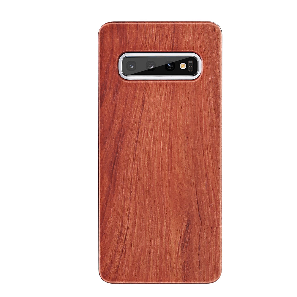 Chic Vintage Wood Case For Samsung Galaxy S10 S9 S8 Case Luxury Real Wooden Case For Samsung S7 Edge S10E S10 Plus Capa