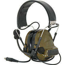 HEARING TACTICAL COMTAC II Outdoor Tactical Hearing Defense Noise Reduction Pickup Military Airsoft Shooting Tactical Headset