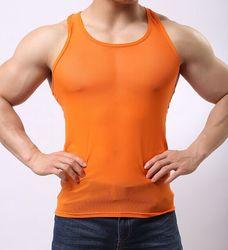 .. Hot Verkoop Mannen Hemd Vest Mouwloos Casual Stijl