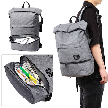 Wet Dry Backpack | Gym Multifunctional Outdoor Travel Fashion Men Backpack Sports Double Shoulder Training Dry Wet Separation Polyester Casual