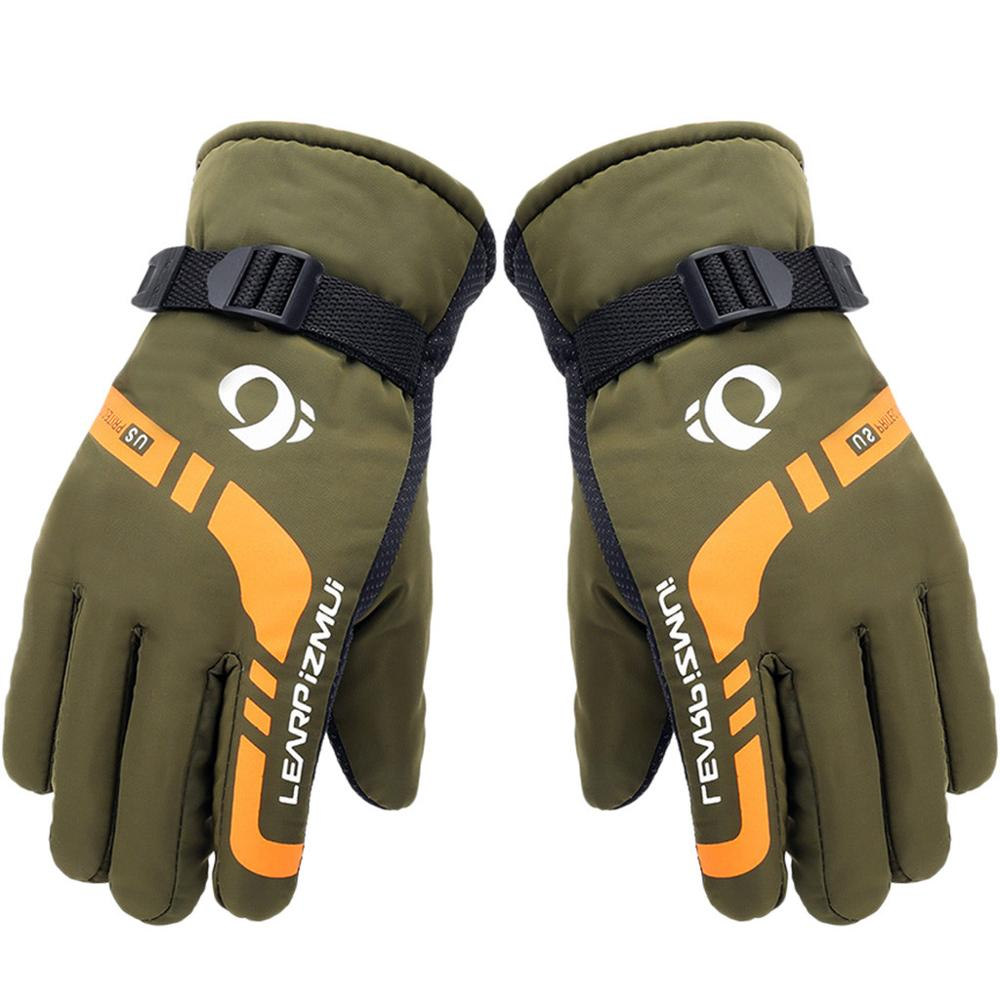 Unisex Ski Gloves Thermal Waterproof Winter Gloves Warm Motorcycle Riding Snowboard Skiing Outdoor Sports Thick Dropship#0807