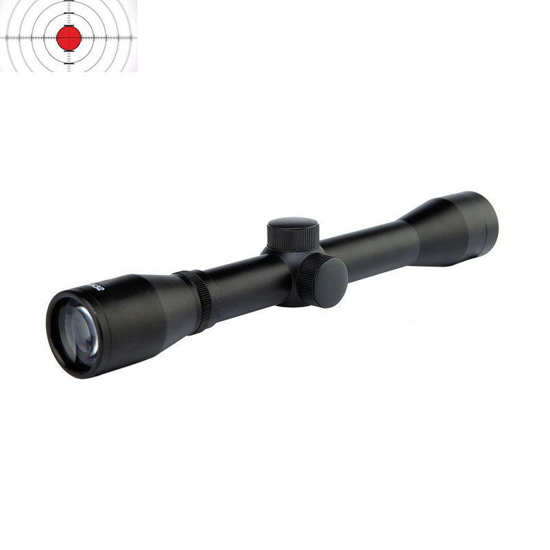 Оптика 4x32 охотничий прицел 25,4 мм прицел для оружия/широкий прицел для охоты Крепление для винтовки