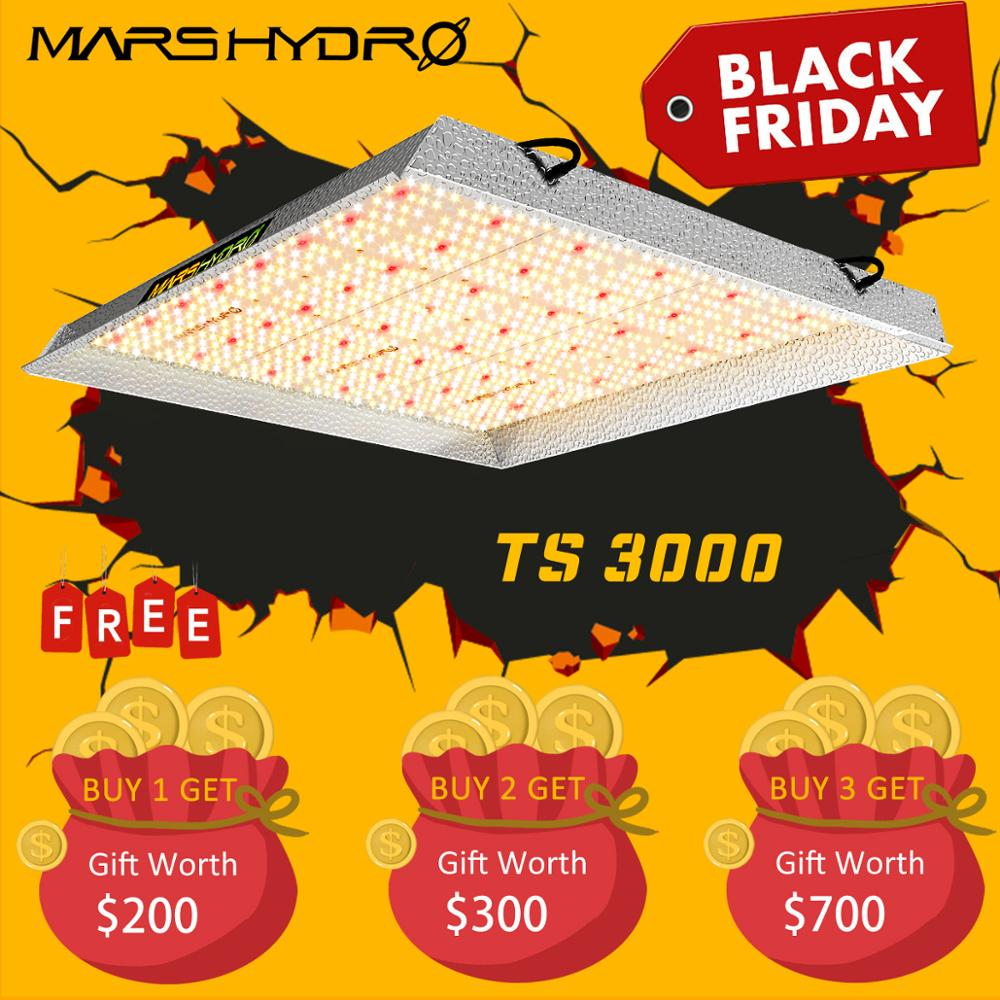 Newest Mars Hydro TS 3000W LED Grow Light Quantum Board Full Spectrum Veg Flower For All Stage Plant