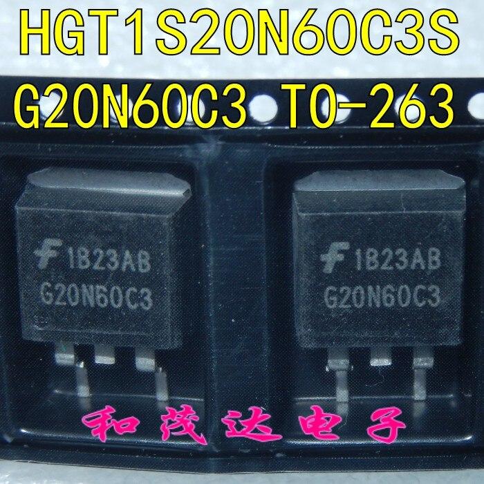 10pcs G20N60C3 HGT1S20N60C3S TO-263