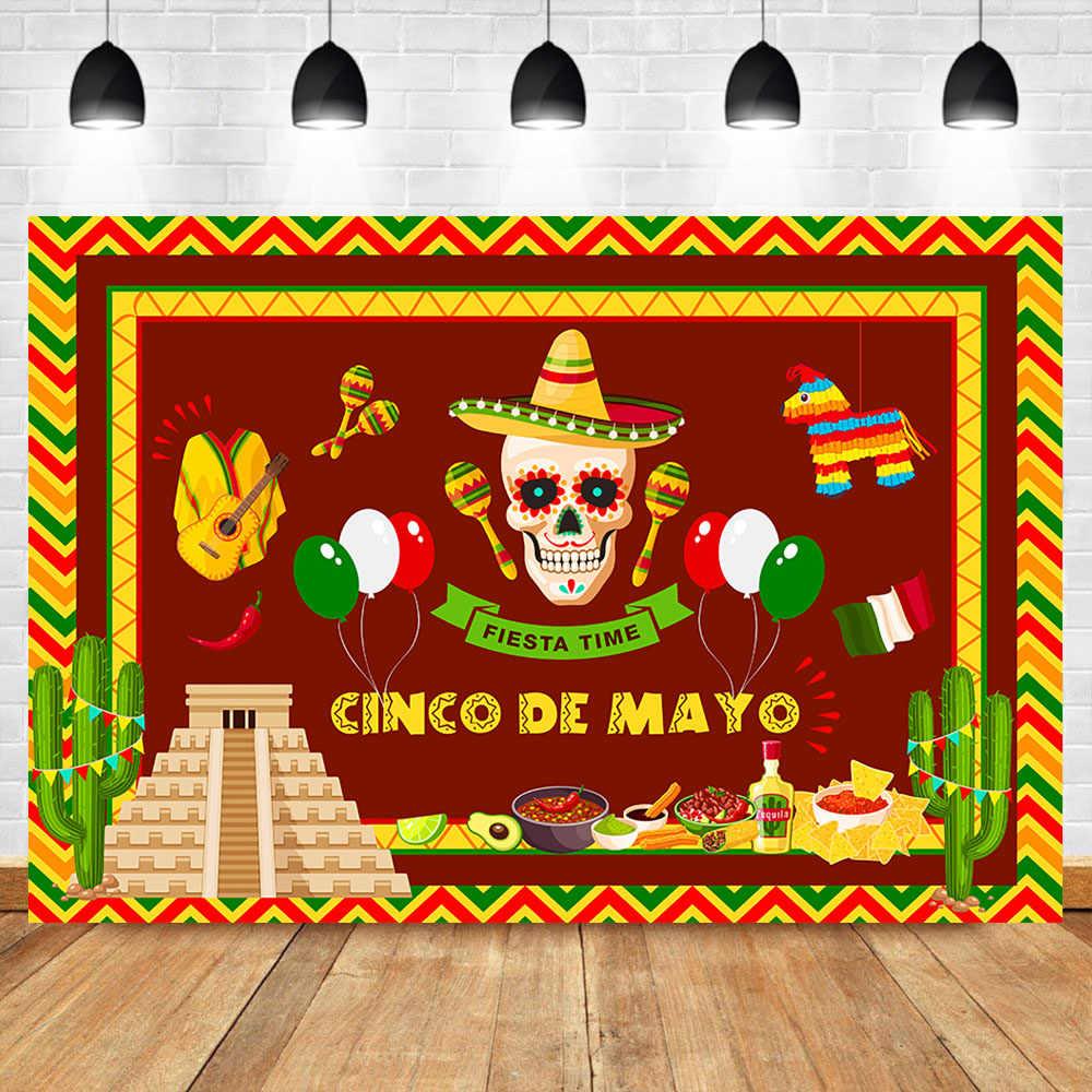Día DE Los Muertos telón DE fondo mexicano azúcar calavera fotografía Fondo Día DE Los Muertos vestido Fiesta Banner Decoración