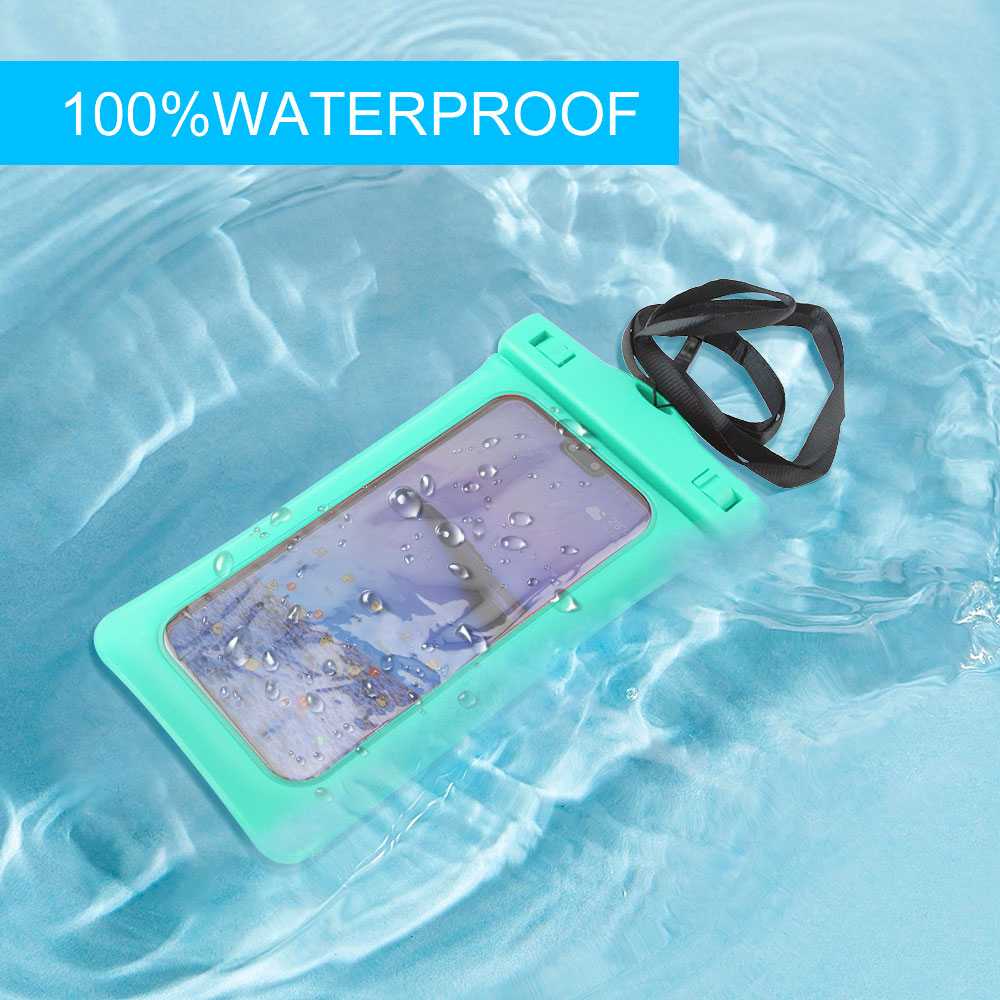 Portable Universal Waterproof Phone Pouch For Mobile Phones Swimming Gadget Beach Dry Bag For Samsung Iphone Huawei Xiaomi Redmi
