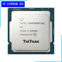 Intel Core i9-10900K es i9 10900K es QTB2 3.3 GHz Dieci-Core Venti-Thread di CPU Processore L2 = 2.5M L3 = 20M 125W LGA 1200