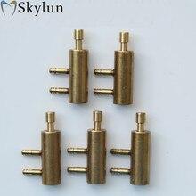 5PCS Tandheelkundige Klep tandheelkundige opknoping houder valve normaal gesloten shut metalen klep rack tandheelkundige apparatuur tandartsstoel unit SL1207