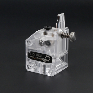Image 1 - 3D Printer Bowden BMG Extruder Cloned Btech Dual Drive Gear Extruder 1.75mm Filament For Sapphire pro CR10 MK8 Ender 3 Anet