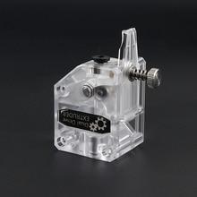 3Dプリンタボーデンbmg押出機クローニングbtechデュアルドライブギア押出機1.75ミリメートルフィラメントサファイアプロCR10 MK8エンダー3 anet