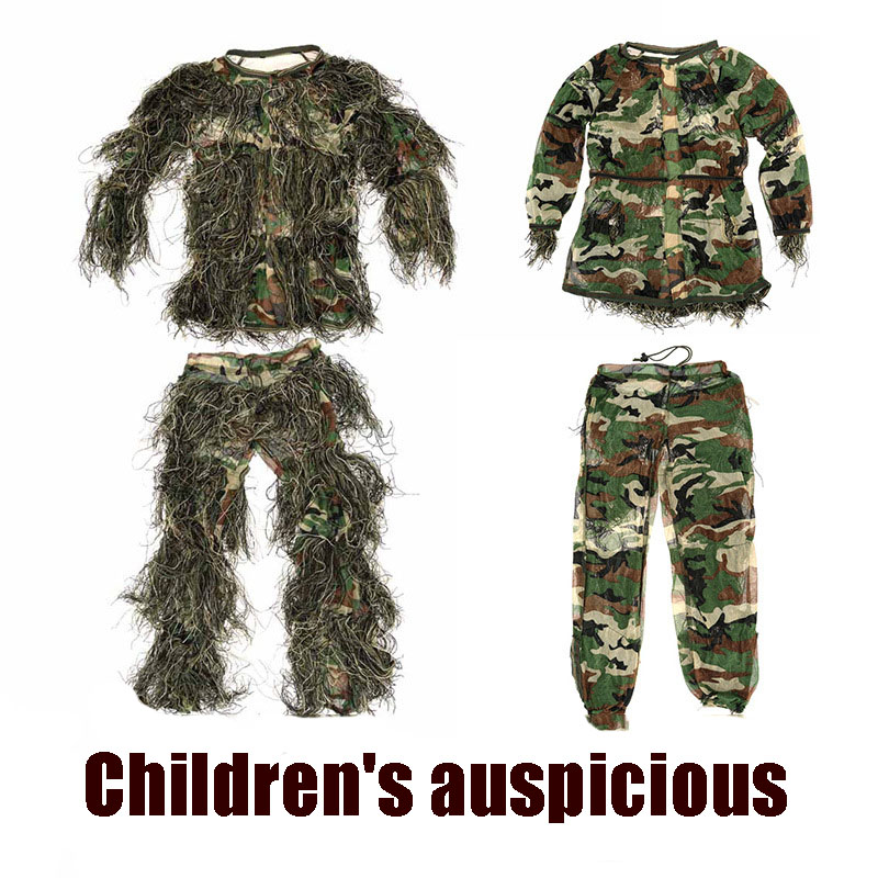 Hot-selling outdoor jungle burr clothing in 2021, eating chicken, hunting, bird watching, stealth auspicious clothing, camouflag
