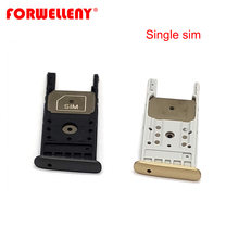 For Motorola Moto G5 Plus Dual Single Sim Card slot Holder Tray black gold XT1685 XT1684 XT1687