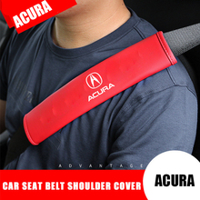 Car Interior Seat Belt Cover for Acura RDX Integra CDX MDX RDX ZDX TL TLX TLX L RLX TSX RSX NSX Shoulder Protection Accessories