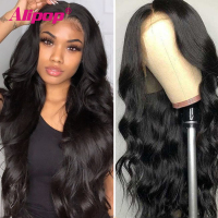 Alipop Body Wave Wig Human Hair Body Wave Lace Front Wig For Black Women 13x6 Lace Front  Wigs Human Hair Brazilian Remy Hair