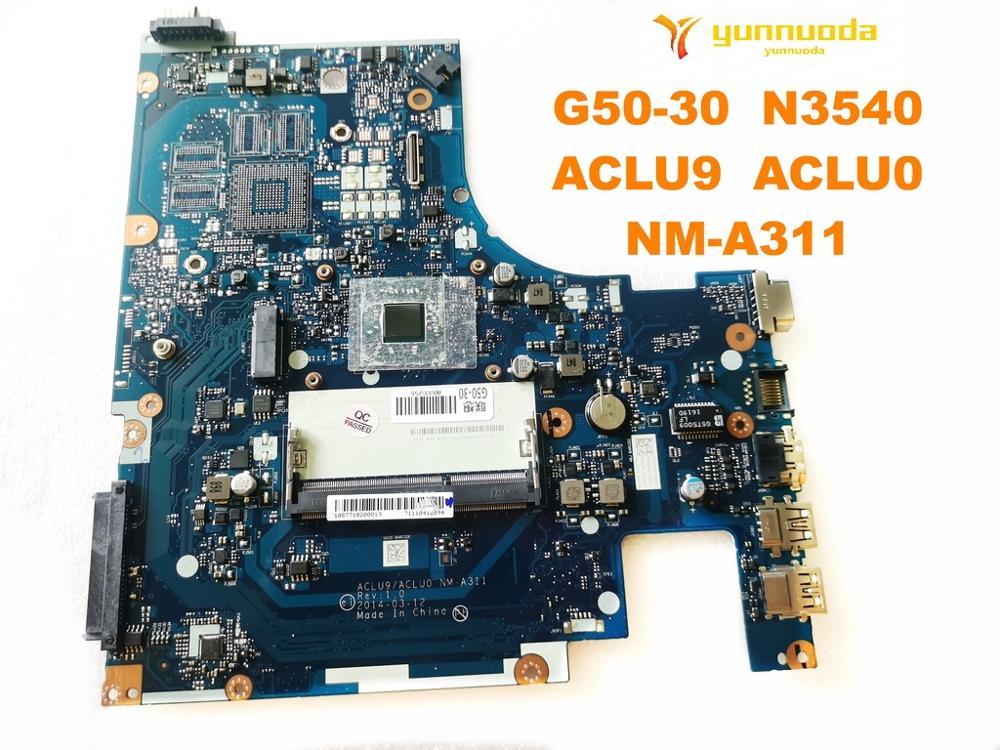 Original For Lenovo G50-30 Laptop Motherboard G50-30  N3540  ACLU9  ACLU0  NM-A311  Tested Good Free Shipping