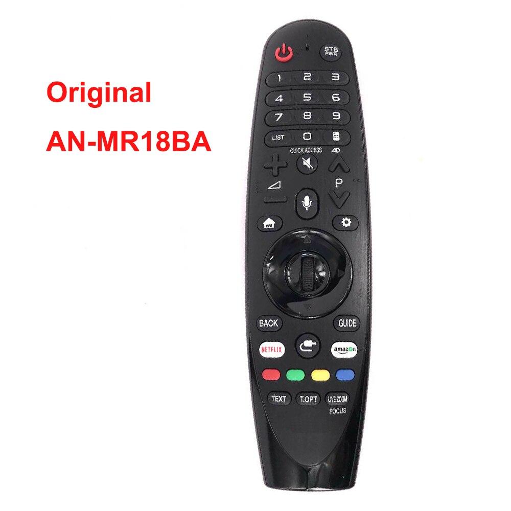 Новый оригинальный/натуральная AN-MR18BA AN-MR19BA IR голос Magic Remote Управление для LG 4K UHD Smart ТВ модель 2018 2019