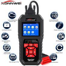 KONNWEI KW850 OBD2 автоматический диагностический сканер универсальный OBD Автомобильный диагностический инструмент ODB2 проверочный двигатель автомобильный код считыватель черный