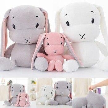 30cm 50cm 70cm Lucky Cute Rabbit Plush Toys Bunny Stuffed  Animal Baby   Sleep  For Kid 70cm 50cm 30cm cute rabbit plush toys bunny stuffed plush toy cute pillow for baby sleeping gift