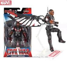 Hasbro Marvel Toys The Avenger Endgame 17CM Super Hero Thor Falcon Wolverine Spider Man Iron Man Action Figure Toy Dolls цена