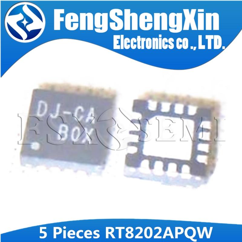 5 шт. RT8202APQW QFN 16 RT8202A QFN RT8202 DJ CB DJ CC DJ CD DJ CE чипы QFN для ноутбука|Интегральные схемы|   | АлиЭкспресс