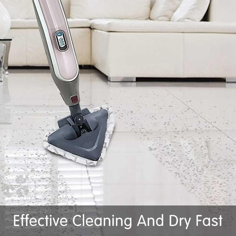 Washable Replacement Cleaning Pads for Shark Steam Mop for Convenient Remove and Clean