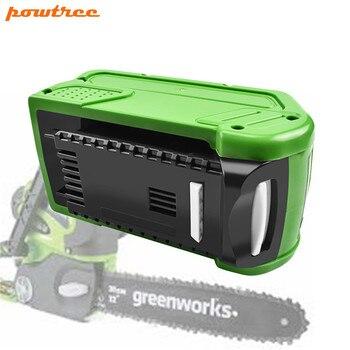 40 в 6000 мАч для сменных литий-ионных аккумуляторов GreenWorks 29472 29462 G-MAX, Аккумуляторный Инструмент Greenworks