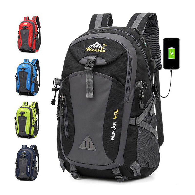 Hot Unisex Mountaineering Waterproof Backpack Men Climbing Hiking Bag Pack Outdoor Camping Travel Backpacks Cycling Sport Bags