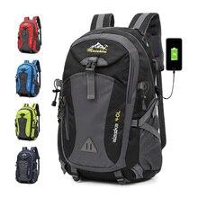 Hot Unisex Waterproof Backpack Men Large Capacity Bagpack Climbing Hiking Bag Casual Sport Bags Outdoor Camping Travel Backpacks