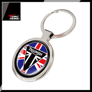 For Triumph Keychain Motorcycle Keychain for Tiger 800 800XC 675R Key Ring(China)