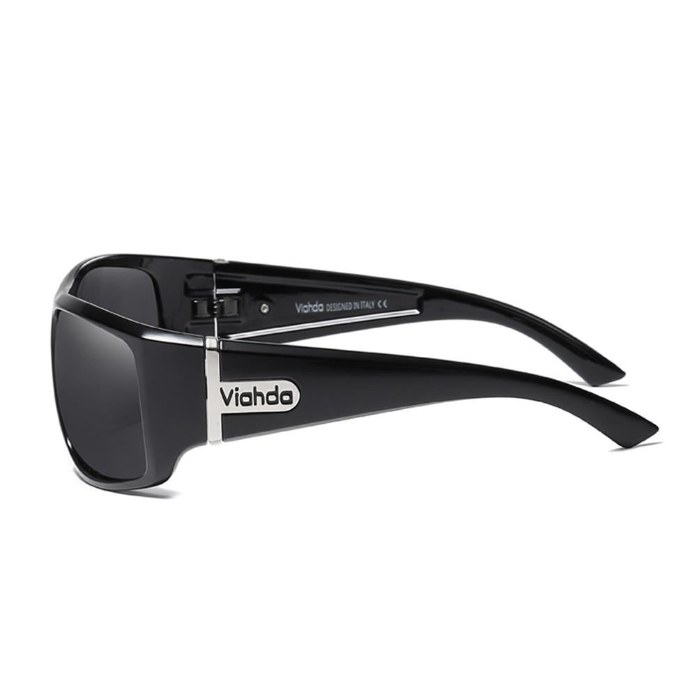 Image 5 - VIAHDA  Men Polarized Sunglasses Driving Sport Sun Glasses Fashion For Men Women   Sun Glasses Travel Male Female  Square ColorMens Sunglasses   -