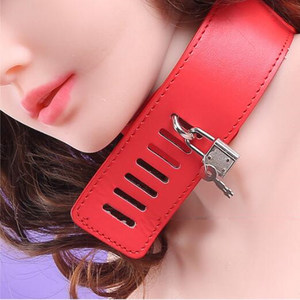Image 5 - PU Leather Halter Neck Bondage Restraints Fetish Back Handcuff Sex Toys For Women Erotic Lingerie Cosplay Wrist Cuffs Collar