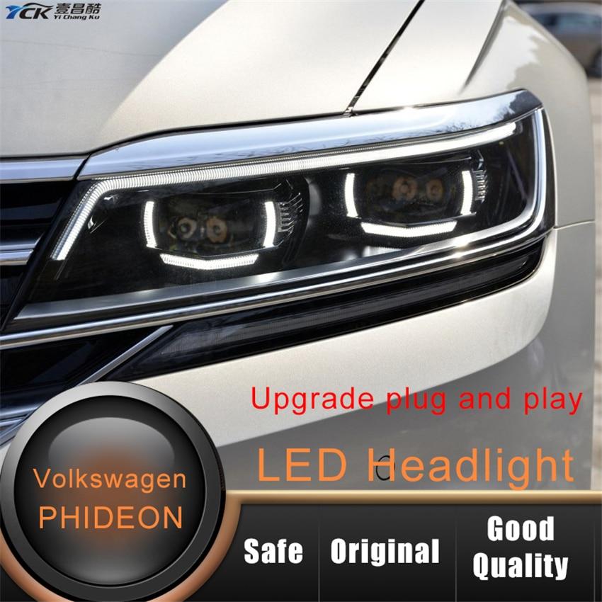 YCK Original 3ED941082 2017 2018 2019 Phideon conjunto de faros LED para reemplazo de faros mejora de cable de modificación de coche
