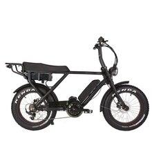 "V B08M48V 1000W Bafang סופר אמצע כונן ארה""ב חשמלי שומן שלגון אופני אופנוע"