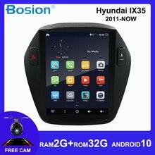 цена на Bosion For Hyundai Tucson 2 LM IX35 2010-2015 Tesla screen Car Radio Multimedia Video Player Navigation GPS Android 10 2 din dvd