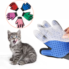 Cat grooming glove for cats wool glove Pet Hair Deshedding Brush Comb Glove For Pet Dog Cleaning Massage Glove For Animal dog glove pet cat hair remover brush suede anti bite cleaning massage pet grooming glove puppy cats dogs hair deshedding combs