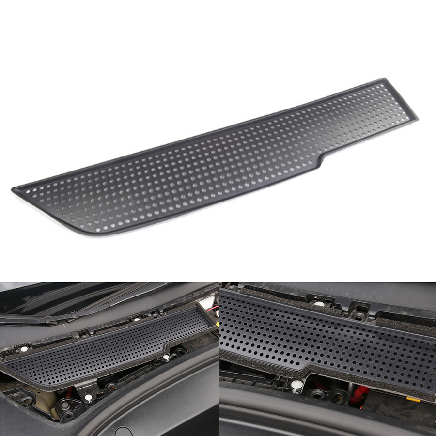 Car Air Protection Decorative Cover Flow Vent Anti-blocking For Tesla Model 3 2017~2019