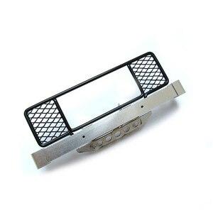 Image 2 - מתכת פגוש עם מתכת מרכז נטו עבור MN D90 D91 99S RC מכונית שדרוג חילוף חלקי אבזרים
